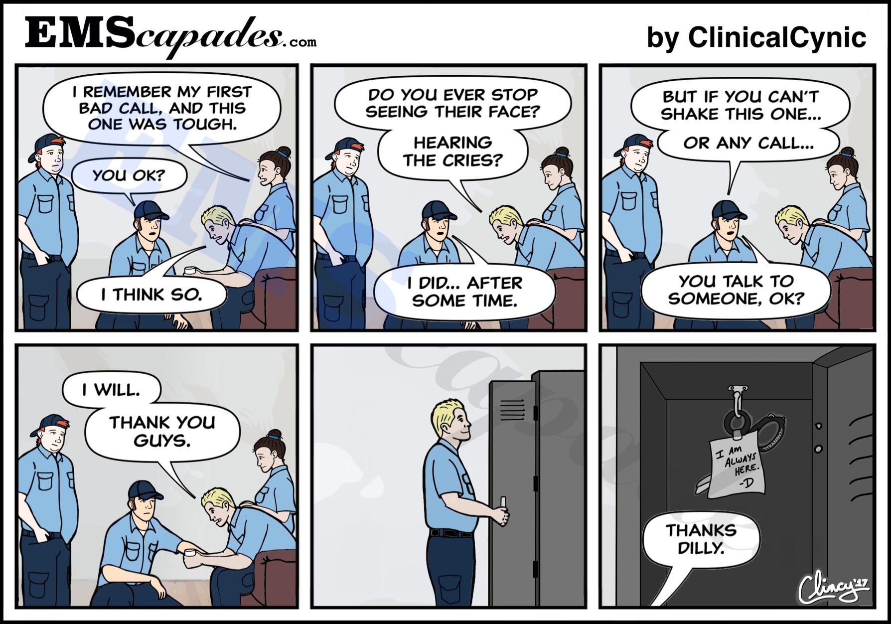 EMScapades - The EMS Comic